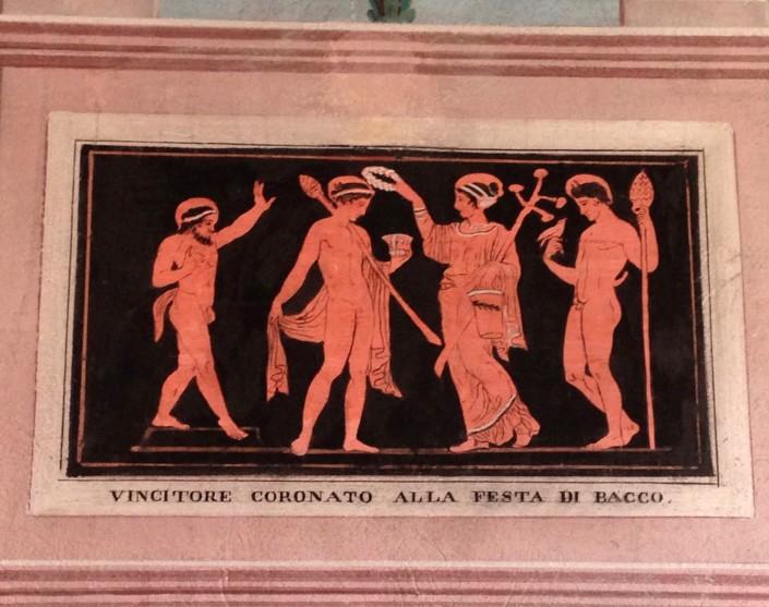 decori ispirati alla pittura vascolare classica